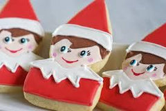 Elf on the Shelf Head Cookie Cutter