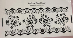 Antique Floral Lace - Stencil by Michelle Smith/Cake Craze