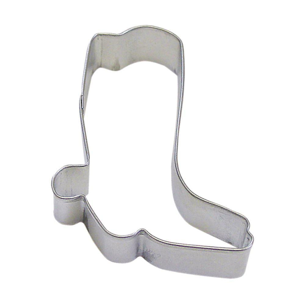 Cowboy Boot Cookie Cutter - 3""