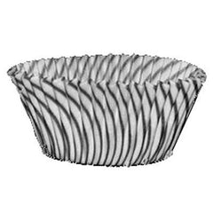 Baking Cups  - Black Striped - 50ct. approx.