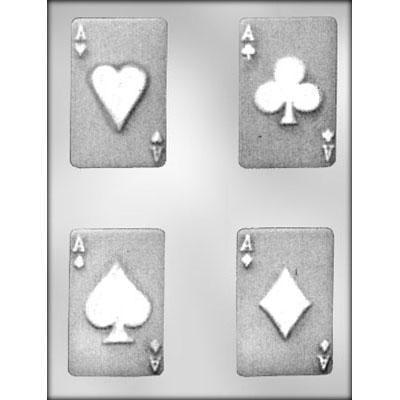 "Playing Card - 3.5"" Chocolate Mold"