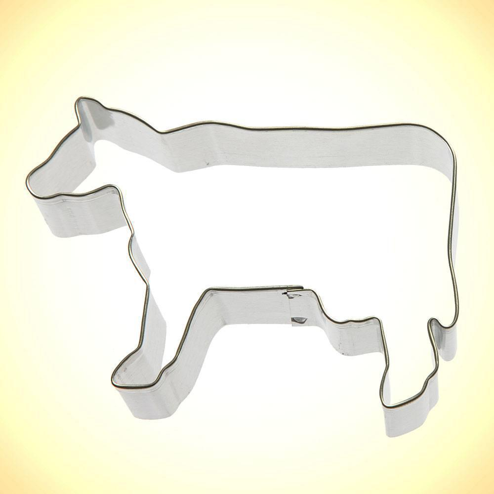 Cow Cookie Cutter - 3.5""