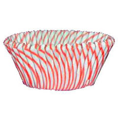 Baking Cups  - Red Striped - 50ct approx.