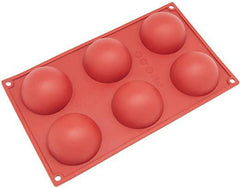 Hemisphere Silicone Baking Mold - 2.5oz - 6 Cavity