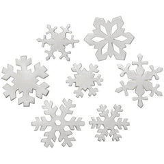 Snowflake Asst. - Gumpaste Layon - Set of 6 - Mixed