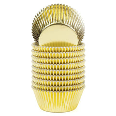 Baking Cups - Gold Foil 50ct