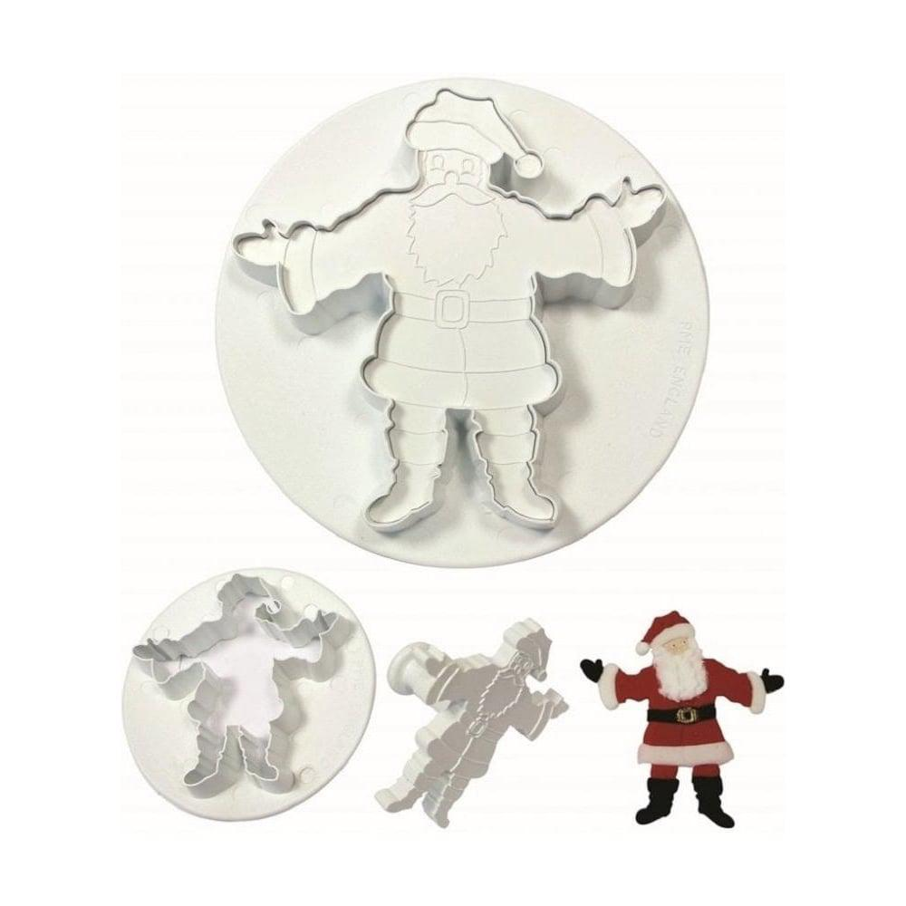 Father Christmas w/ Embossers 2 sizes - 566