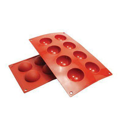 Hemisphere Silicone Baking Mold - 1oz. - 8 Cavity