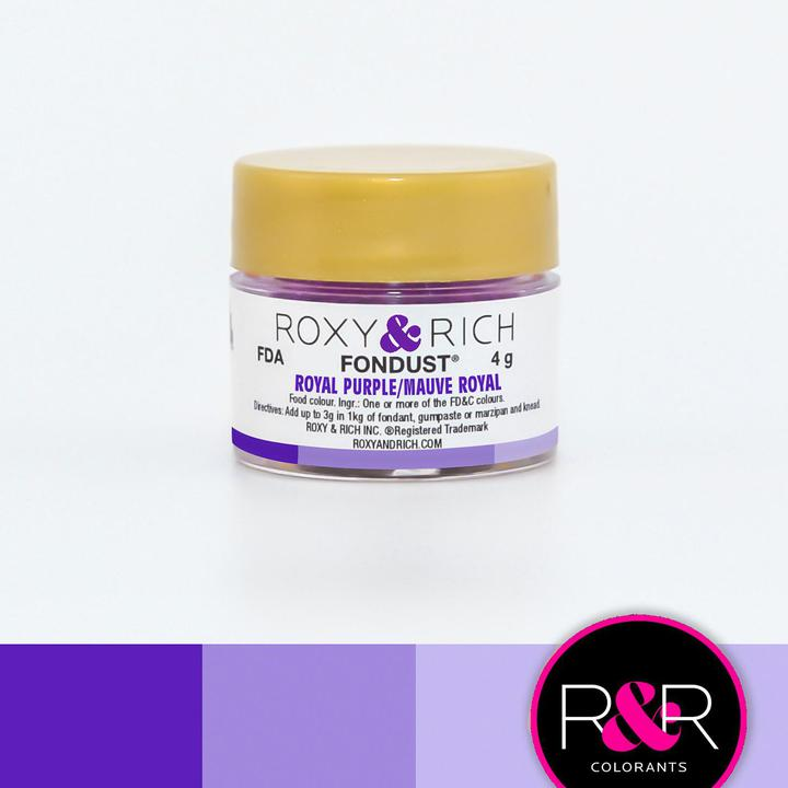 Royal Purple - 4g - Fondust - R&R