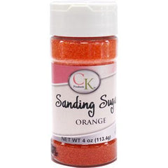 Sanding Sugar Orange - 4oz