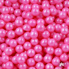 Candy Beads Pink 7mm