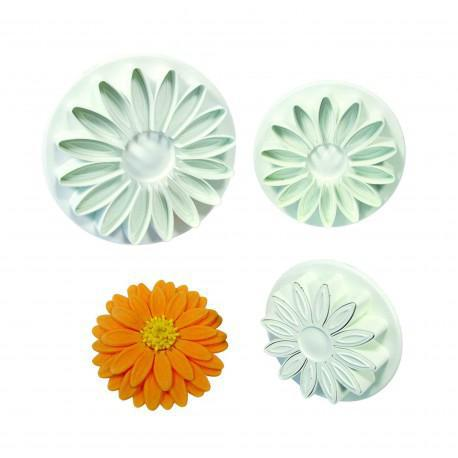 Veined Sunflower Gerbera And Daisy Set Of 3