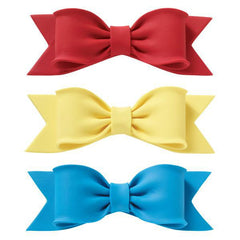 "Bow - Red - 6"" x 2"" - Single"