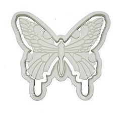 Butterfly Cutter with Embosser - Plastic - Large