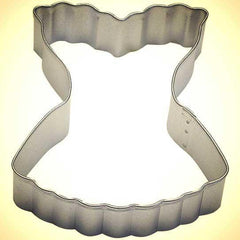 Corset Cookie Cutter - 3.5""