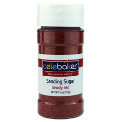 Sanding Sugar Rowdy Red - 4oz