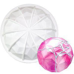 Gem Hemisphere Silicone Baking Mold Large