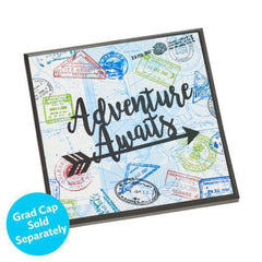Graduation Cap Top Adventure Awaits