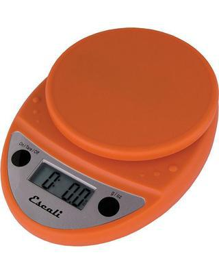 Digital Scale Primo - Pumpkin Orange