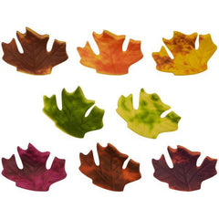 Fall Leaves Gumpaste Asst. - Set of 8