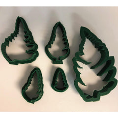 Fern Fronds Cutters - 5 Piece Set