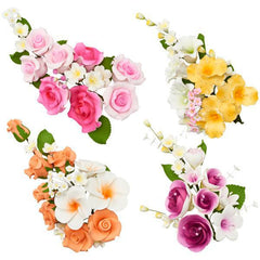 Flower Assortment Sprays - Box of 4