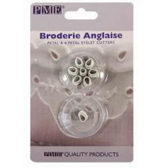 Broderie Anglaise - Petal & 6 Petal Eyelet Cutters