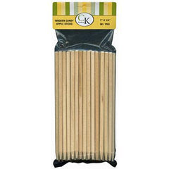 "Apple Stick 50 ct. package - 7"" - wooden"