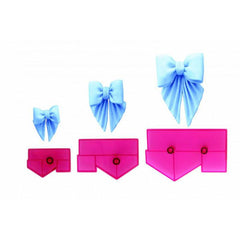 Bows for drapes - set of 3