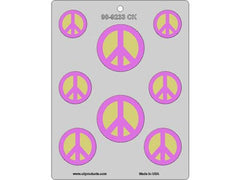 Peace Sign Chocolate mold