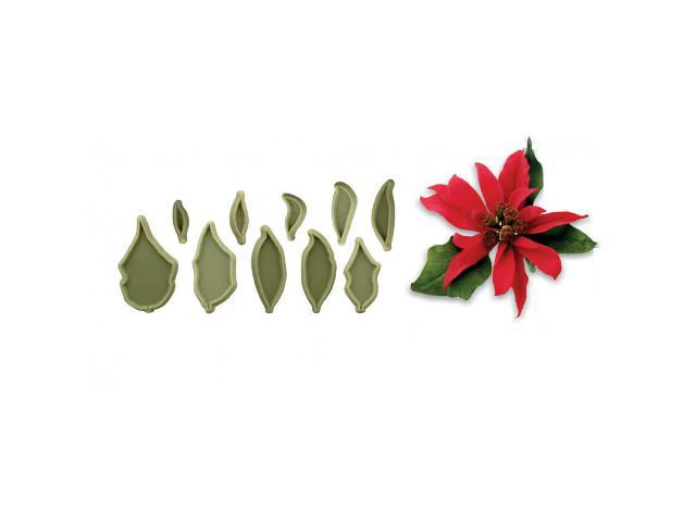 Poinsettia Set of 10