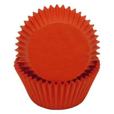 Baking Cups - Red Glassine - Appr 50 to Pkg