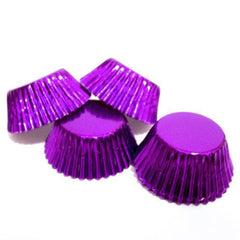 Baking Cups - Mini Purple - Appr 25ct