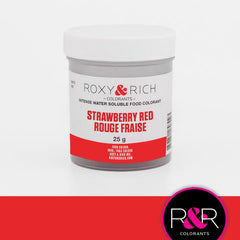 Strawberry Red- Intense Water Soluble Dust - R&R