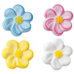 Blossom Asst. Sugar Layon - Set of 4