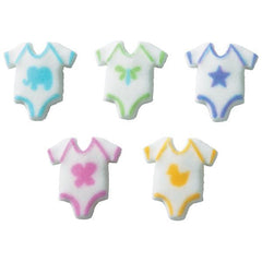Baby One Piece Decon Set of 5 - 1 ea. color