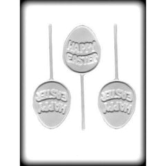 Happy Easter Egg Sucker Candy Mold