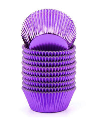 Baking Cups - Purple Foil CK single