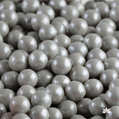 Candy Beads Gray 7mm