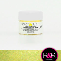 Canary Yellow -  Luster Dust - R&R