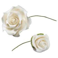 "White Roses - 1"" - Small"