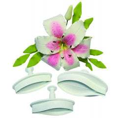 Lily Plunger cutter Extra Large Set of 2