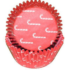 Baking Cups  - Candy Canes - 50ct.  approx.