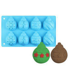 Holiday Theme Ornaments Silicone Mold