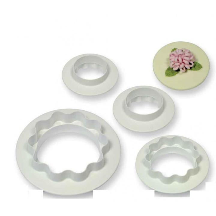 Round & Wavy Edge Set of 4