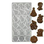 Christmas Assortment 1 Polycarbonate Chocolate Mold