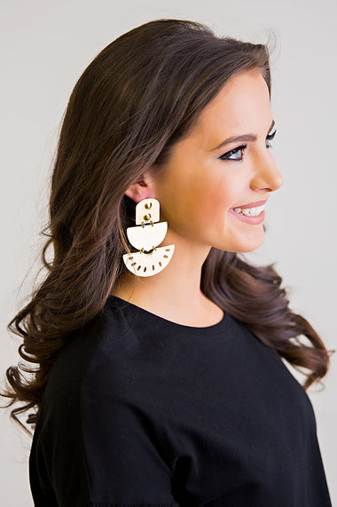 Artesian Moon Earrings - Karlie Clothes
