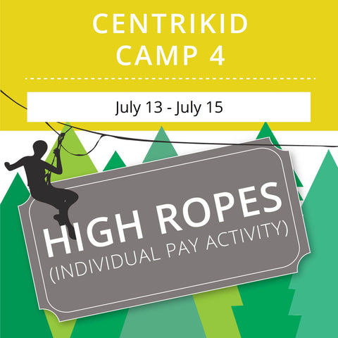 CentriKid Camp 4 -  High Ropes