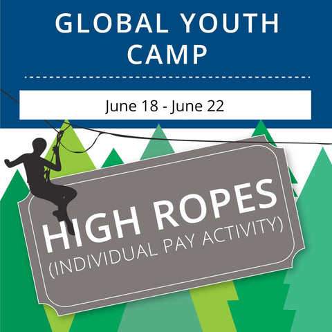 Global Youth Camp- High Ropes