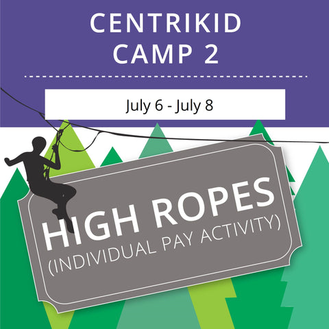 CentriKid Camp 2 - High Ropes